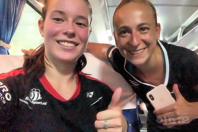 WK Badminton 2018: beide vrouwendubbels door naar tweede ronde