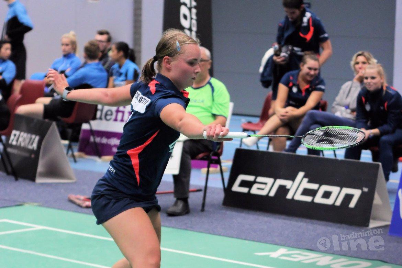 VELO komend weekend van start in kampioenspoule Nederlandse Badminton Eredivisie