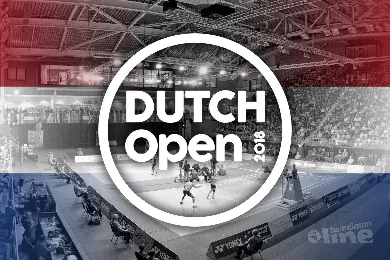 Plaatsingslijst Dutch Open 2018 bekend: Mark Caljouw titelfavoriet