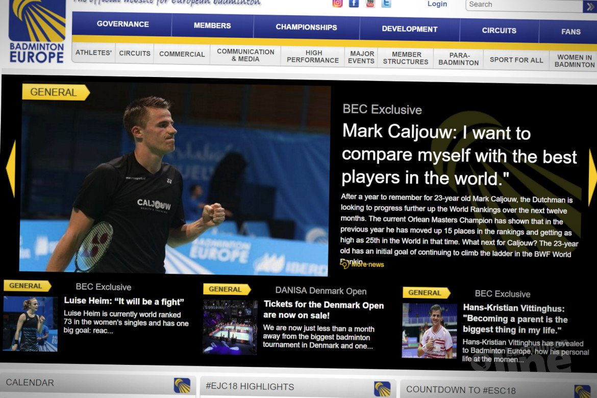 Mark Caljouw: I want to compare myself with the best players in the world