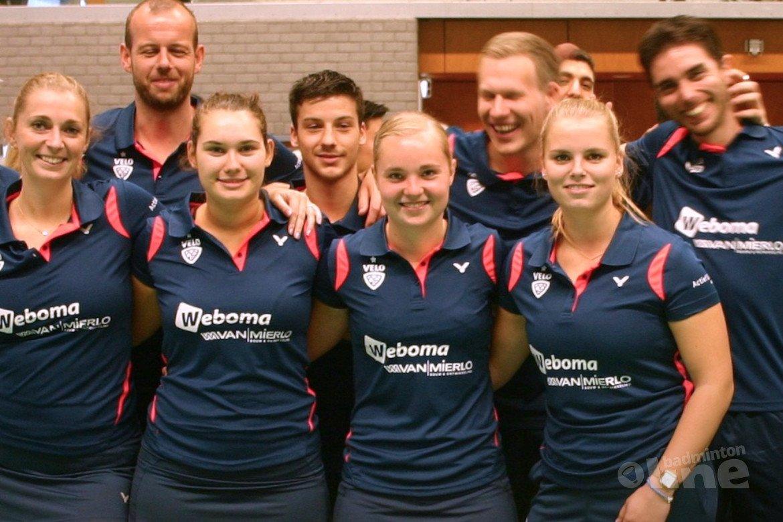 Wateringse VELO te sterk voor DKC en Amersfoort in dubbelweekend Nederlandse Badminton Eredivisie