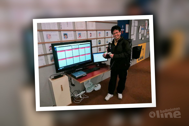 Publieke presentatie digitale afhangsysteem BV Almere tijdens Dutch Open 2018?