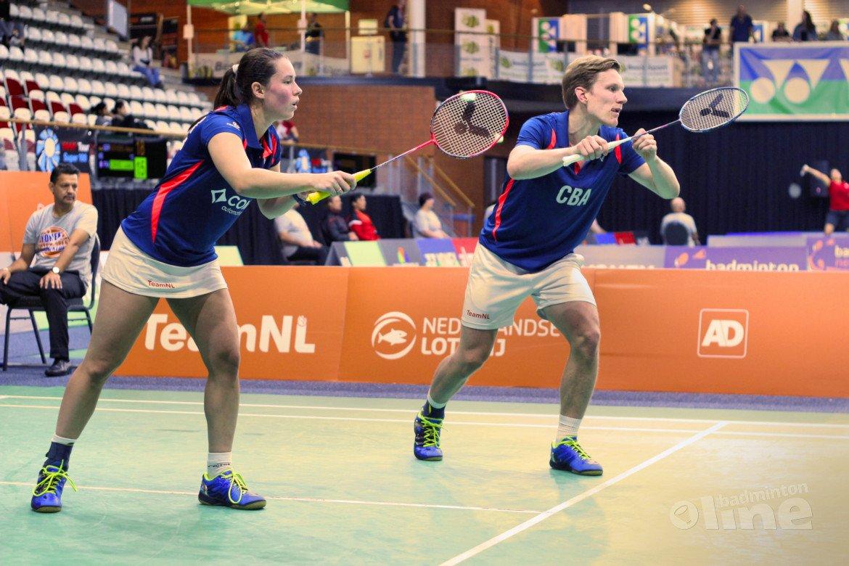 Yonex French Open: geen kwartfinale voor Robin Tabeling en Cheryl Seinen