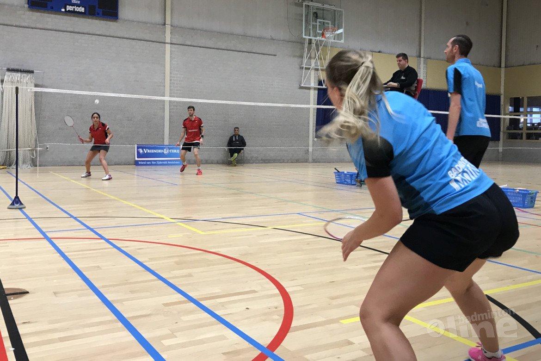 Van Zijderveld aan kop in verliezerspoule Nederlandse Badminton Eredivisie