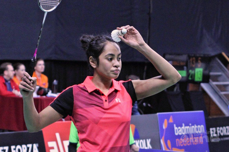 Badminton in het donker voor olympische droom van Gayle Mahulette