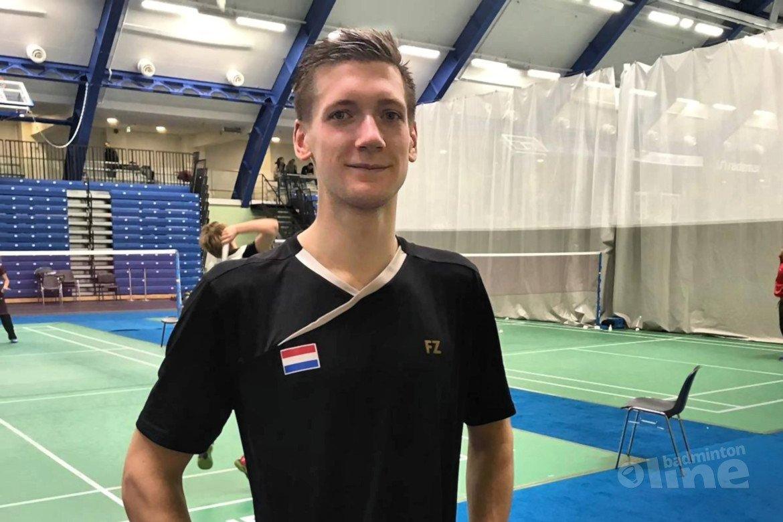 Badmintonner Joran Kweekel levert topprestatie in Estland