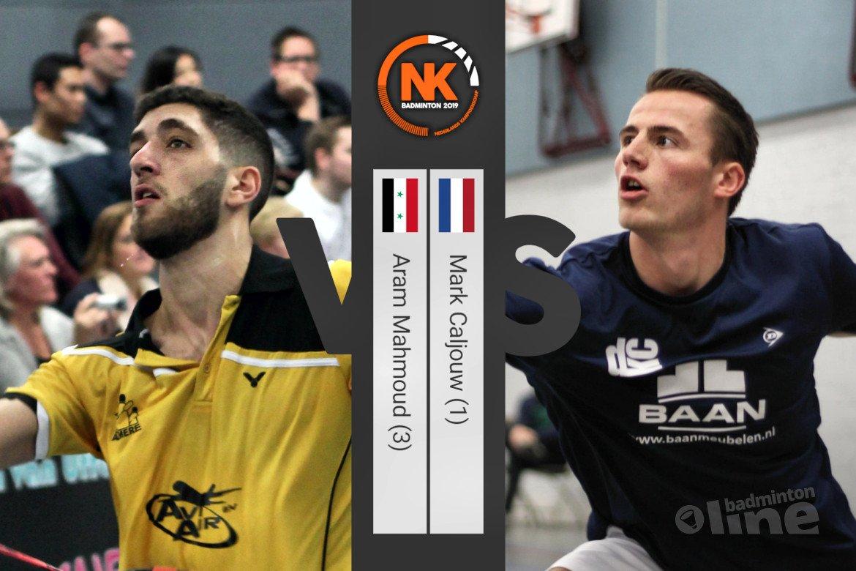 NK Badminton 2019: Mark Caljouw topfavoriet in mannenenkelspel
