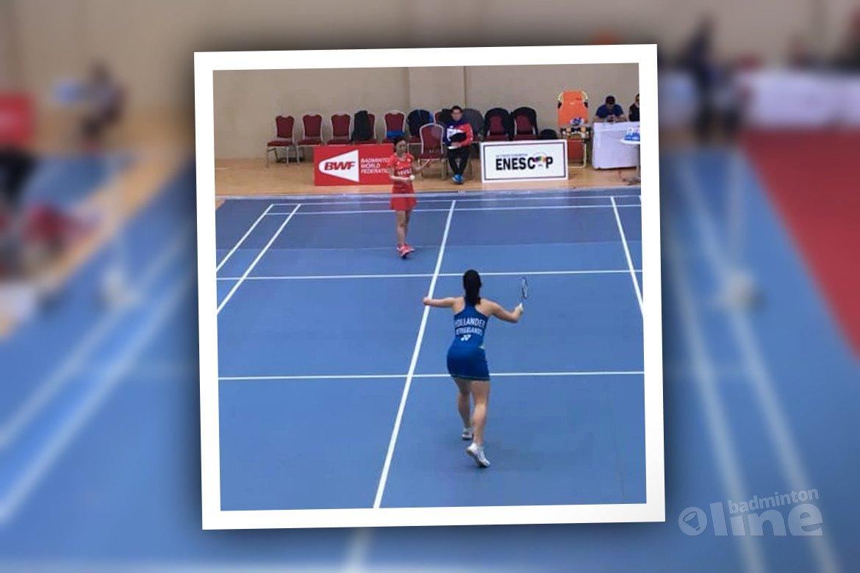 Parabadmintonner Megan Hollander door naar kwartfinale in Antalya