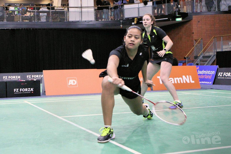 Nederlandse badmintontieners actief in Zagreb