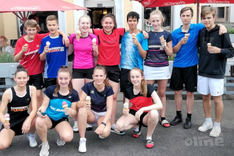 Jeugdbadmintonner Jaymie Laurens runner-up vrouwendubbel bij German Open U17