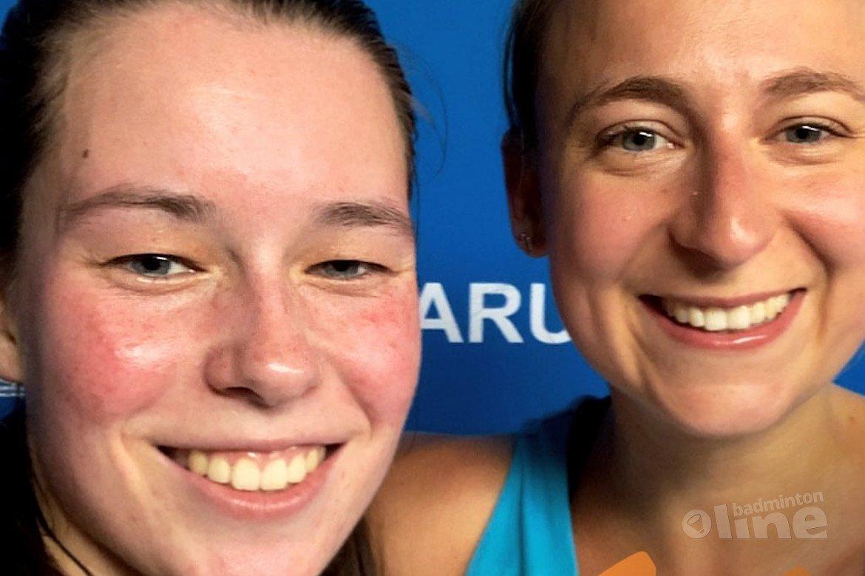 Badmintonners Selena Piek en Cheryl Seinen naar finale European Games 2019