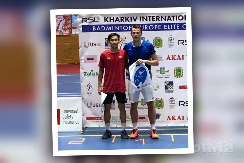 Mark Caljouw wint RSL Kharkiv International 2019