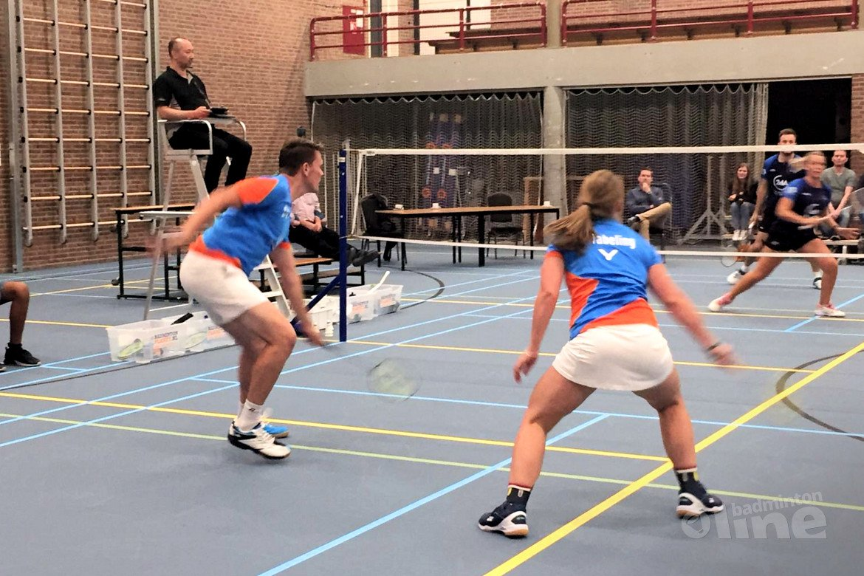 Hoornse koploper in Nederlandse Badminton Eredivisie na winst op Smashing