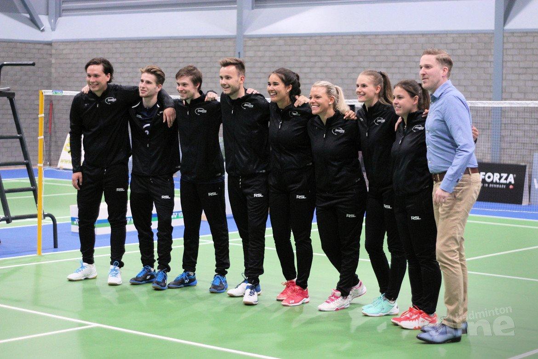 Smashing niet opgewassen tegen Hoornse in Nederlandse Badminton Eredivisie