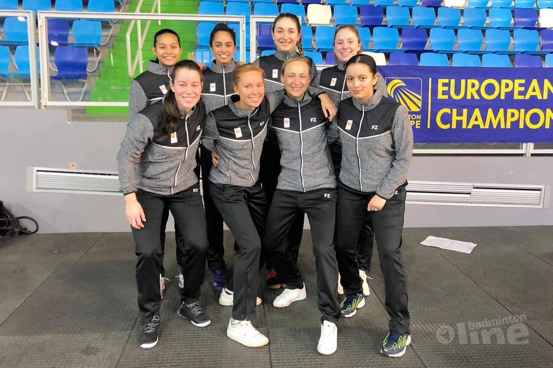 Ruime nederlaag Nederlandse vrouwen na EK-groepswedstrijd tegen Denemarken