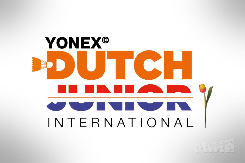 Yonex Dutch Junior International 2020 in volle gang