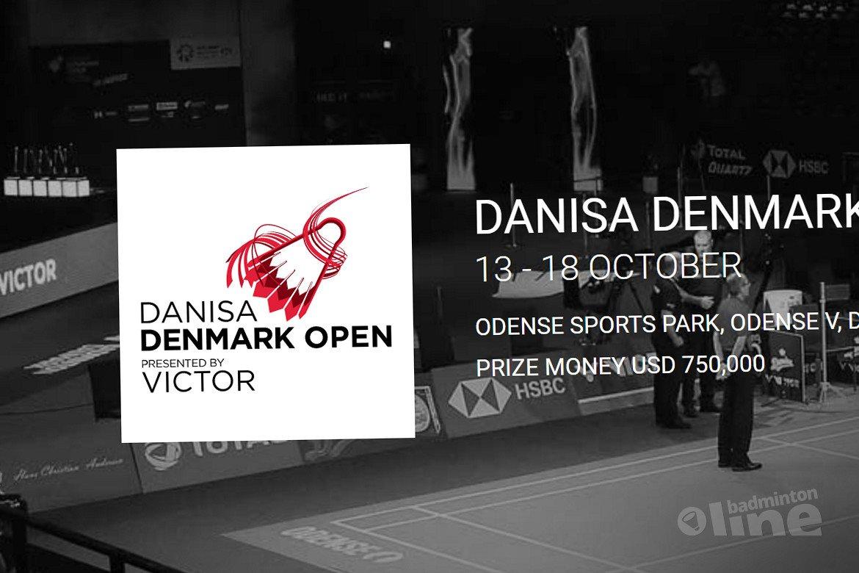 Speelschema Denmark Open 2020 bekend: eerste toptoernooi na Corona-lockdown