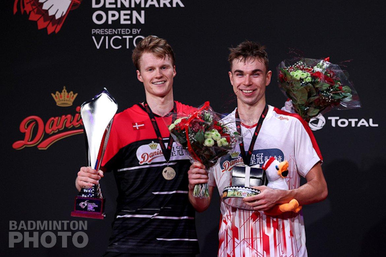 Denmark Open 2020 prooi voor Anders Antonsen en Nozomi Okuhara