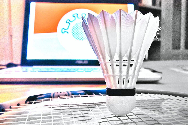 Badmintoncompetitie ligt stil tot medio december