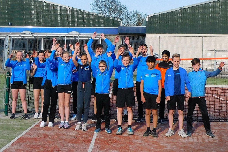 Badmintontraining in Noord-Brabant tijdens corona
