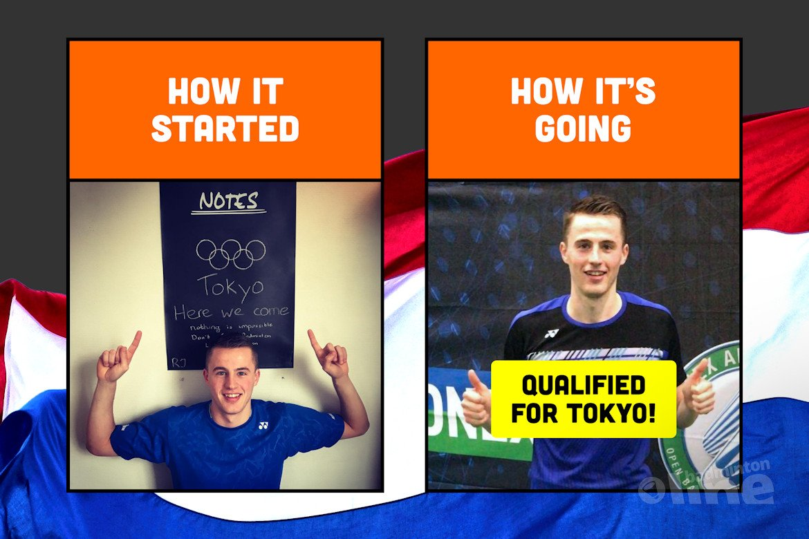 Mark Caljouw: Wow! I just qualified for the Olympics Games!