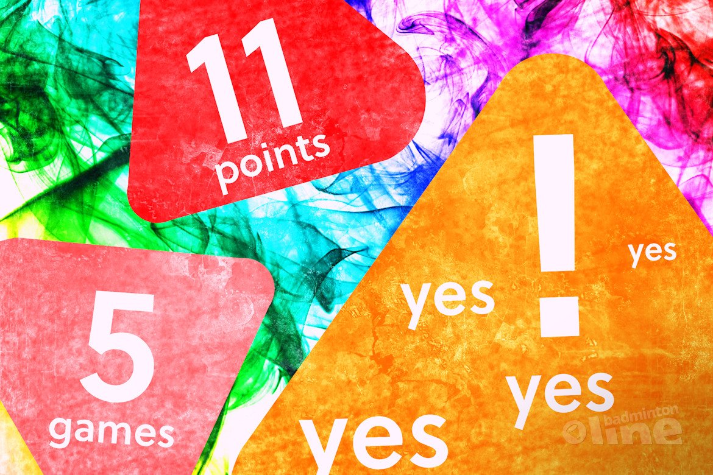 Badminton Nederland wil graag nieuw scoresysteem: 5 games to 11 points