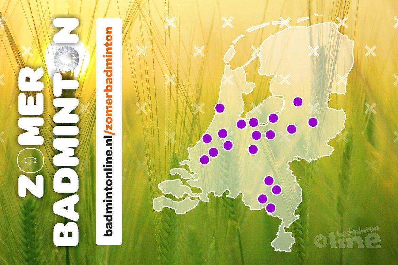Zomerbadminton op meer dan 20 locaties in heel Nederland!