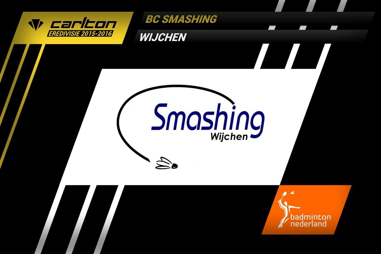 Carlton Eredivisie: BC Smashing gedegradeerd