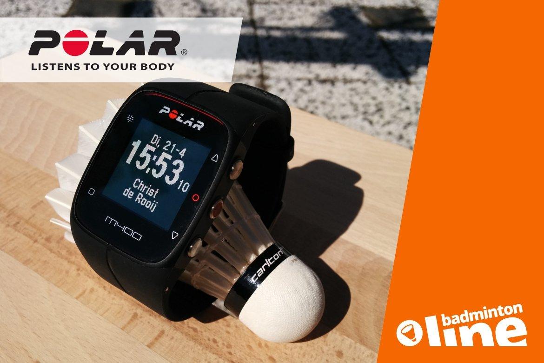 Polar M400 HR Black: understated maar compleet sporthorloge