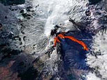 etna, volcano, erupts, rarely, decades, continues, spectacular