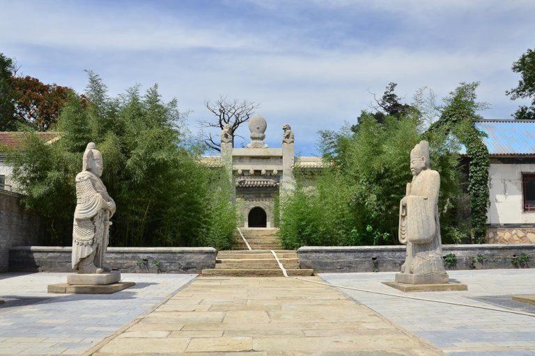Visit Tian Yi Mu's Tomb