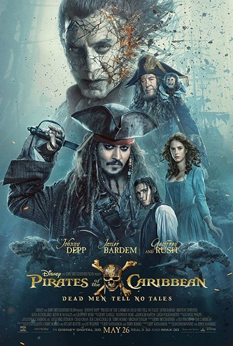 Pirates of the Caribbean Dead Men Tell No Tales 2017 TRUEFRENCH 720p BluRay x264-GZR