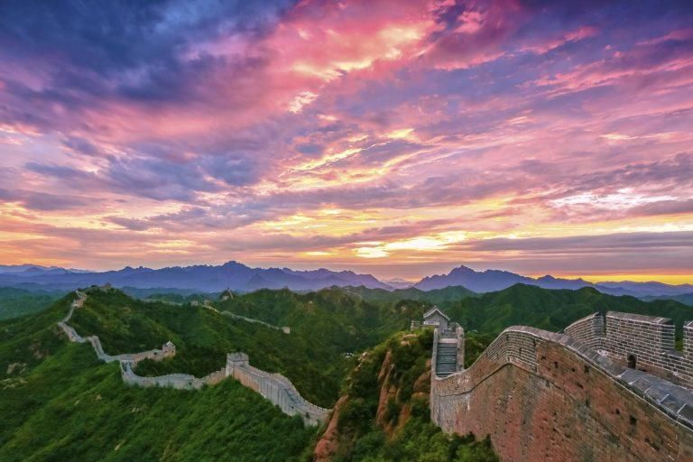 Climb the Great Wall of China