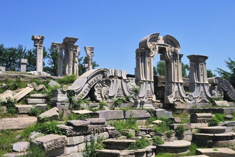 Explore the Old Summer Palace
