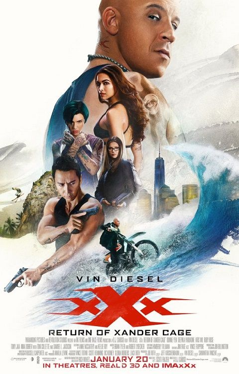 xXx Return of Xander Cage 2017 FRENCH BRRip XviD AC3-NoTag