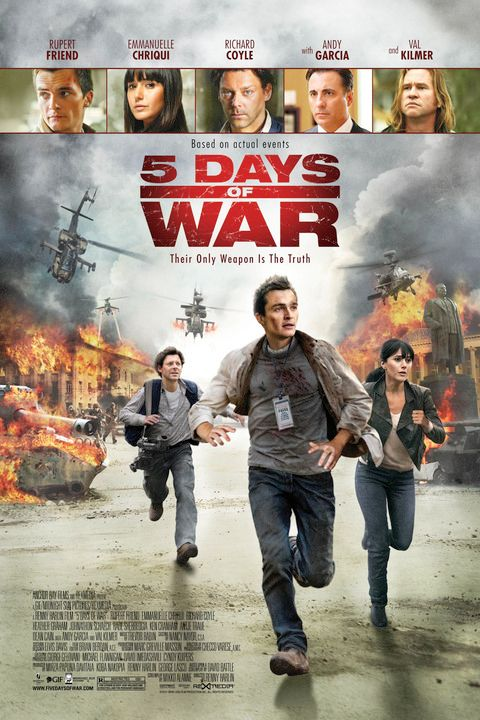 5 Days of War 2011 FRENCH BRRip XviD AC3-NoTag