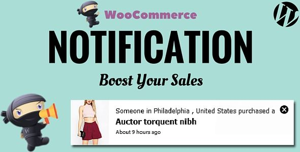 WooCommerce Notification v1.1.3 – Boost Your Sales