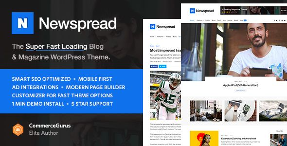 Newspread – Magazine, Blog, Newspaper and Review