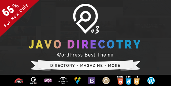 Javo Directory v3.3.1 – WordPress Theme