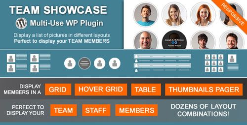 Team Showcase v1.8.4 – Codecanyon WordPress Plugin