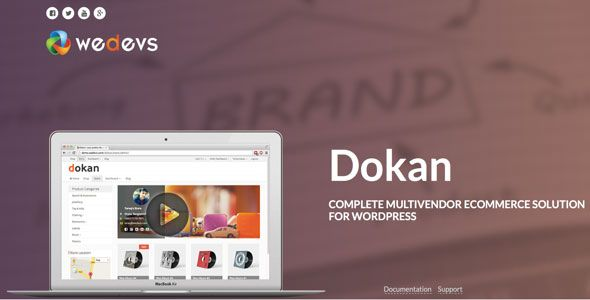 Dokan Pro v2.6.3 – Complete Multivendor e-Commerce Solution