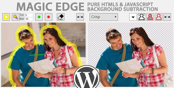 Magic Edge v1.2.0 – Image Background Remover for WP