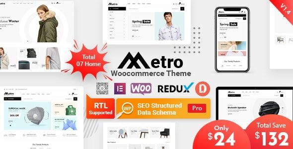 Metro v1.3 – 极小WordPress WooCommerce电商主题