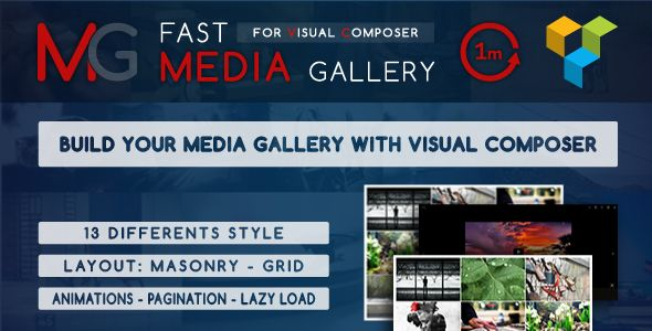 Fast Media Gallery For Visual Composer v1.0