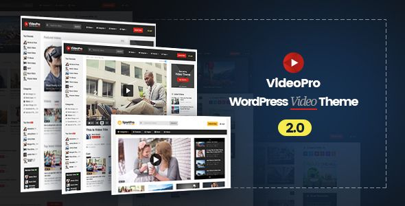 VideoPro v2.0.7 – Video WordPress Theme