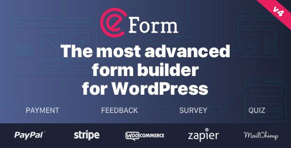 eForm v4.12.2 – WordPress表单生成器
