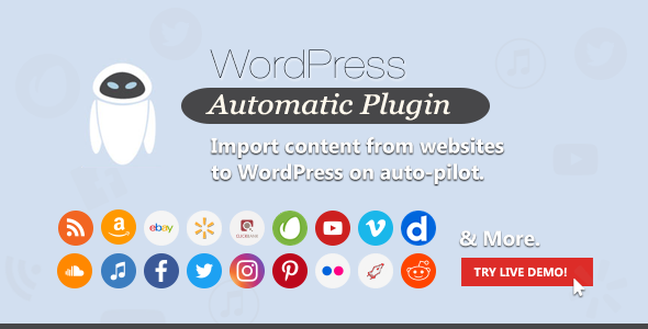 WordPress Automatic Plugin v3.47.0 – 自动发布插件