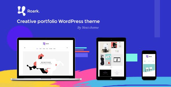 Roark – Minimal Portfolio WordPress Theme