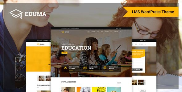 Eduma v2.8.0 – Education WordPress Theme