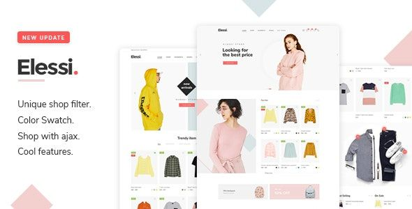 Elessi v3.3.0 – WooCommerce AJAX WordPress主题